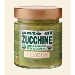 BIO Zucchinicreme, Paté aus Zucchini, Vegan - Alicos, 190g