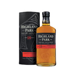 Highland Park 18 years Orkney Single Malt Whisky 0,7l