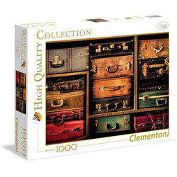 Clementoni® Puzzle Reise, 1000 Puzzleteile, Made in Europe