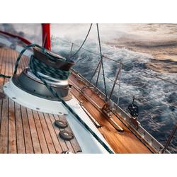 Fototapete Sailing in Storm, glatt 3,50 m x 2,60 m