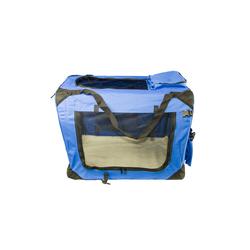Airbrush-City Tragetasche Hundetransport-Tasche Größe M Hundebox Blau Hundetransportbox Hundetasche (0-tlg)