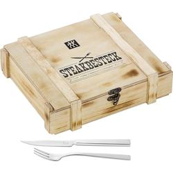 Zwilling Besteck-Set Steak Grillbesteck 18/10 Edelstahl 12-tlg