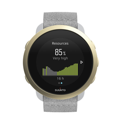 Suunto Suunto 3 - Sport-Smartwatch White/Gold/Grey