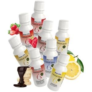 Lean:Life Flavour Drops - Aroma Tropfen - Frucht Mix - vegan, zuckerfrei, glutenfrei - ohne Kalorien - Made in Germany - 30ml