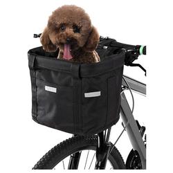 Favson Fahrradkorb Fahrrad vorne Körb Faltbar,Hundefahrradkörbe Oxford Tuch,Einkaufstasche,für Katze,Picknick,Elektrofahrräder