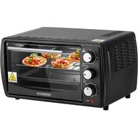 STEINBORG Minibackofen SB-3005s, Oberhitze; Unterhitze, 13 l, Großes Sichtfenster, Hitzebeständiges Gehäuse