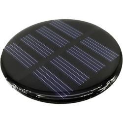 TRU COMPONENTS POLY-PVZ-R70-2V Solarzelle 2 V/DC 0.12A 1 St. (Ø x H) 70mm x 2.9mm