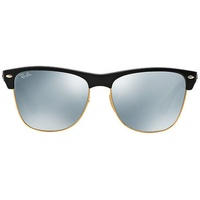 Ray Ban Clubmaster RB4175 black / silver mirrored