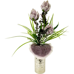 Kunstpflanze Protea, I.GE.A., Höhe 63 cm
