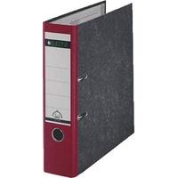 Leitz Ordner 1080 DIN A4 Rückenbreite: 80mm Rot Wolkenmarmor 2 Bügel 10805025