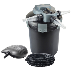 Heissner Teichfilter FPU10000-Set, mit UVC-Klärer, Förderleistung: 3.300 l/h