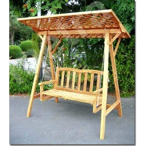 NEU Hollywoodschaukel Gartenschaukel Schaukelbank Holz