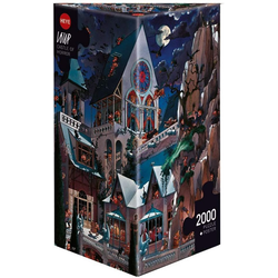 HEYE Puzzle Castle of Horror, Loup, 2000 Puzzleteile
