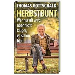 Herbstbunt. Thomas Gottschalk  - Buch