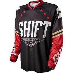 Shift Recon S15 Trikot Herren - Baseball Schwarz/Rot - M