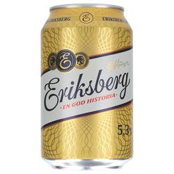 Eriksberg 5,3% 24 x 0,33 ltr.