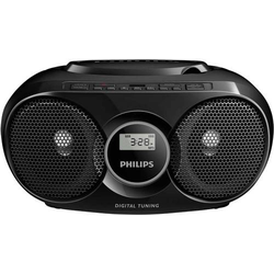Philips AZ318B CD-Radio UKW AUX, USB Schwarz