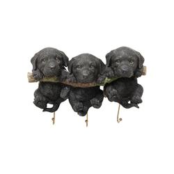 KARE Garderobe Wandhaken Three Mini Dogs