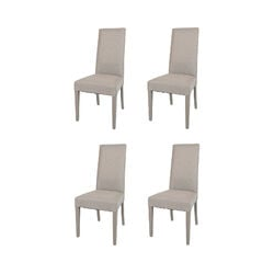 T M C S - Chaises Made in Italy Tommychairs - Set 4 chaises GLAM pour cuisine et salle à manger,