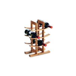 HTI-Living Weinregal Weinregal für 12 Flaschen Bambus