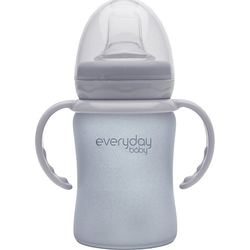 Glas-Trinkbecher Sippy Cub 150ml grau
