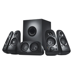 Logitech Z-506 5.1-Surround-Sound-Lautsprechersystem mit Subwoofer