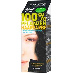 SANTE Haarfarbe Pflanzenhaarfarbe schwarz
