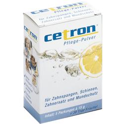 CETRON Reinigungspulver 5X15 g