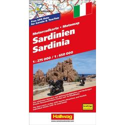 Motomap Sardinien 1 : 275 000 / 1 : 650 000
