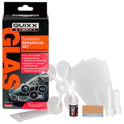 QUIXX Glas-Reparaturset, für Scheiben orange Autopflege Autozubehör Reifen Glas-Reparaturset