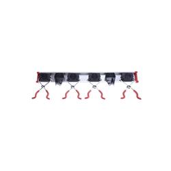 Bruns Gerätehalter 0,5m 4 Halter 2 Haken Gartengerätehalter