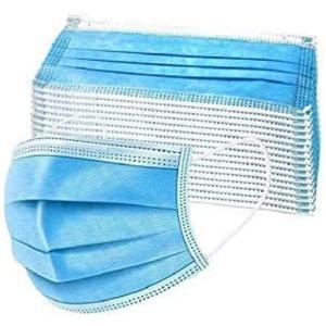 Mundschutzmasken 3-lagig 50 Stück - Einwegmaske - Einweg Maske - Mundschutz Gesichtsmaske