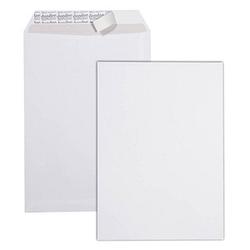 dundee Versandtaschen DIN C4 ohne Fenster weiß mit ohne Falte kein Wert Falte, 10 St.
