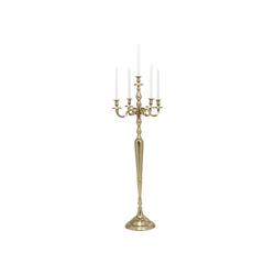 KARE Kerzenständer Kerzenleuchter Chalet Gold 150cm