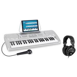 McGrey BK-4910SR Beginner-Keyboard Silber Set inkl. Kopfhörer