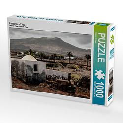 Lanzarote - Yaiza Lege-Größe 64 x 48 cm Foto-Puzzle Bild von Bernd H. Daub Puzzle