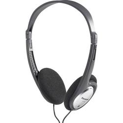 Panasonic RP-HT030 On Ear Kopfhörer On Ear Leichtbügel Schwarz, Silber