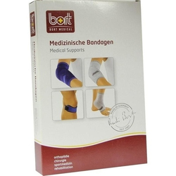 BORT KubiTal Ellenbogen-Polster-Bandage L blau 1 St