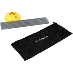 Dunlop 16-teiliges Hürden-Set, grau-gelb