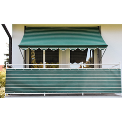 Angerer Freizeitmöbel Klemmmarkise, 150 cm Ausfall, versch. Breiten grün Klemm-Markisen Markisen Garten Balkon Klemmmarkise