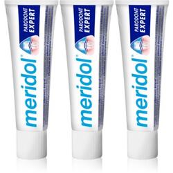 Meridol Parodont Expert Zahnpasta gegen Zahnfleischbluten und Parodontose 3 x 75 ml