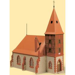 Auhagen Modelleisenbahn-Gebäude Kirche, Made in Germany rot Kinder Schienen Zubehör Modelleisenbahnen Autos, Eisenbahn Modellbau