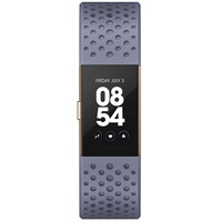 Fitbit Charge 2 blaugrau / rosegold S