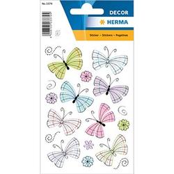 26 HERMA Aufkleber 3379 Schmetterlinge