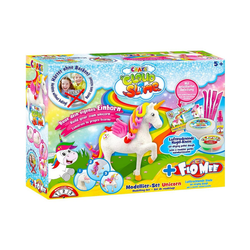 CRAZE Knete Cloud Slime meets Flo-Mee - Einhorn Set