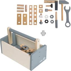 roba® Spielwerkzeug Werkzeugkiste, (Set, 22-tlg)