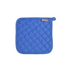 Ross Topflappen Uni in blau, 24 x 24 cm