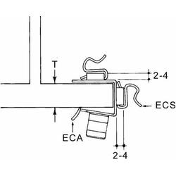 Niedax Kabelbefestigung ECA-1520
