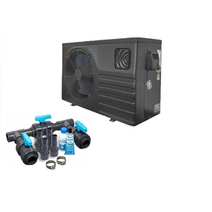 well2wellness Full-Inverter Pool Wärmepumpe Mida Force 12 - Poolheizung mit Heizkapazität bis 11,9kW