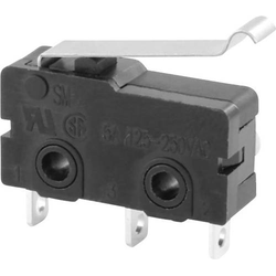 TRU Components Mikroschalter TC-MS03 5A tastend 1St.